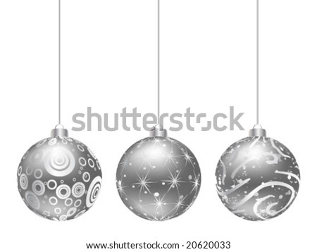 christmas globe vector illustration