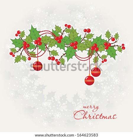 Christmas greeting card. #164623583