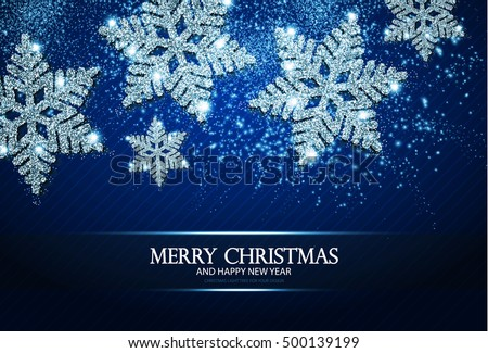 christmas greeting card and