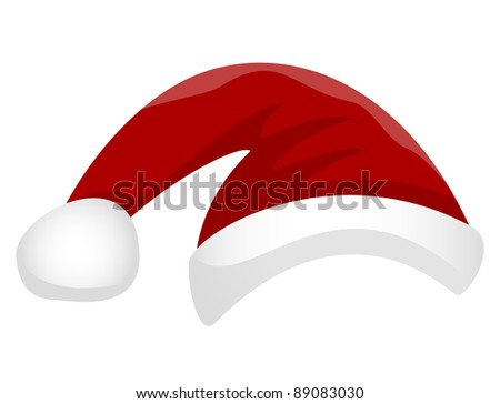 Christmas hat (vector version)