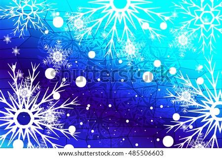 christmas holiday blue