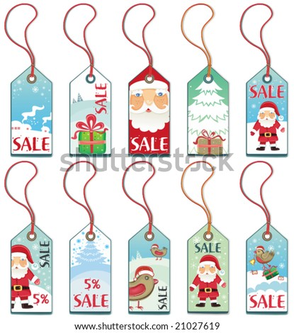 Christmas holiday tags. To see similar, please VISIT MY GALLERY.