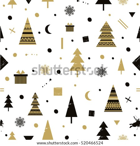 christmas holidays cute vector