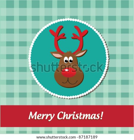 Christmas illustration.