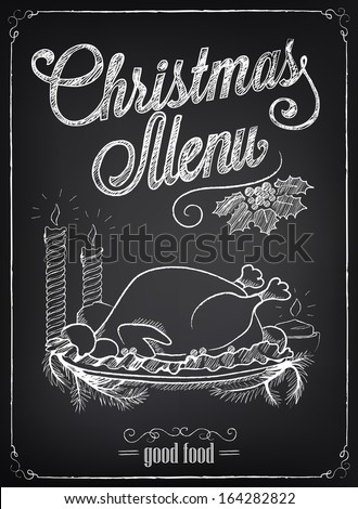 christmas illustration of a