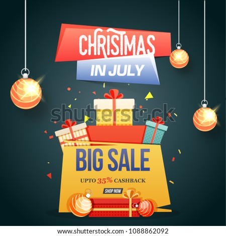 christmas in july  big sale
