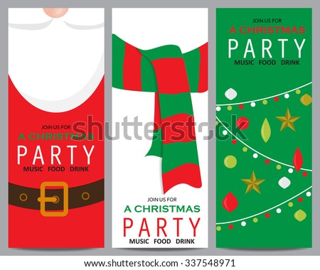 free christmas invitations download free vector art stock