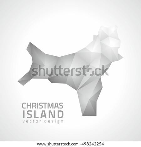 christmas island vector
