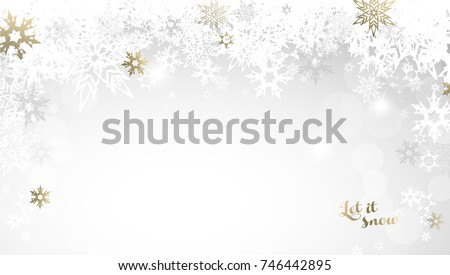 christmas light background with