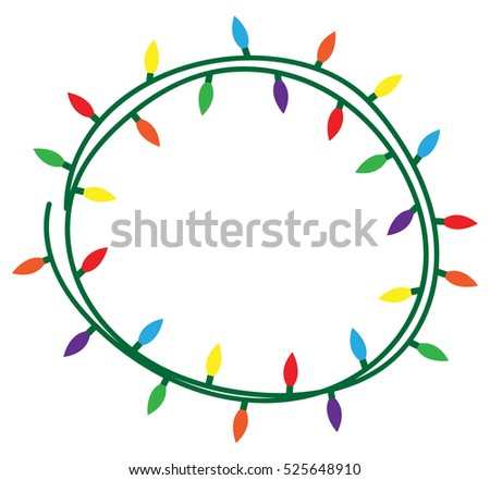 holiday lights download free vector art stock graphics images rh vecteezy com vector christmas lights white vector christmas lights white