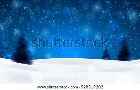 christmas night background with