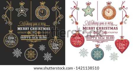 Christmas. Noel. Weihnachten. Merry Xmas Background design christmas greeting card. Christmas calligraphy lettering Merry Chrismas Happy Holiday.  Holiday  poster for greeting cards, website,banner.