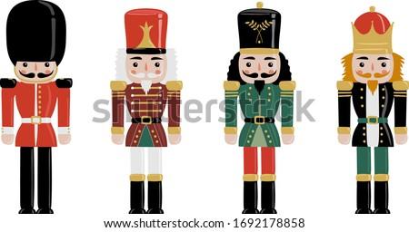 Christmas Nutcracker & London guard