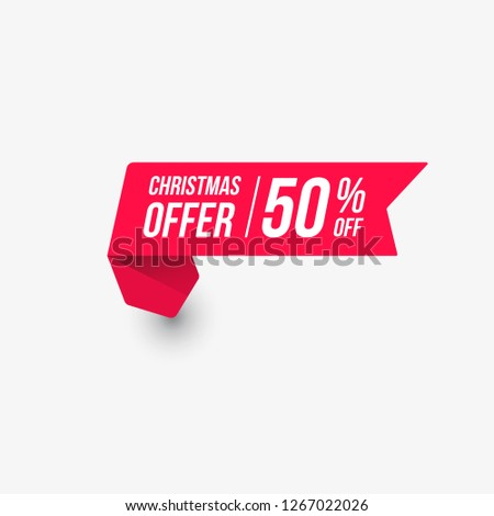 Christmas Offer Label #1267022026