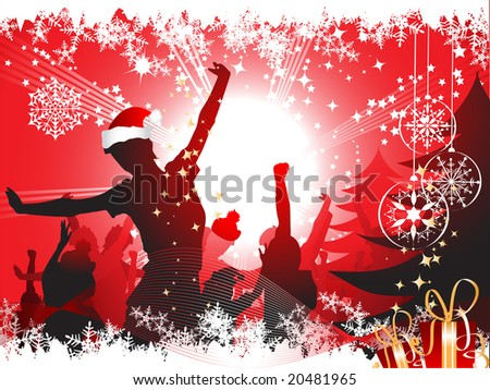 Christmas Party Flyer Sample http://www.shutterstock.com/pic-20481965/stock-vector-christmas-party-background.html