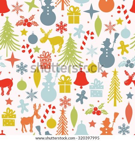 christmas pattern seamless