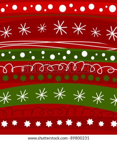 Christmas pattern texture. Vector illustration