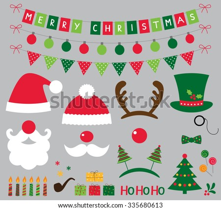 christmas photo booth and
