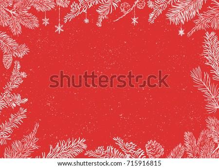 christmas poster   illustration