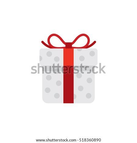 Christmas Present, Box, Icon, Pictogram, Color, Present Box, New Year, 2017