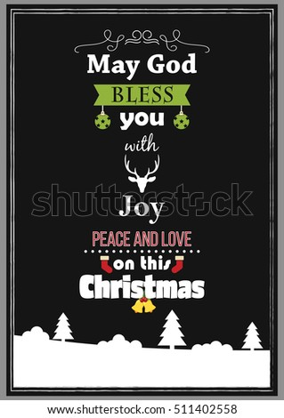christmas quote may god bless
