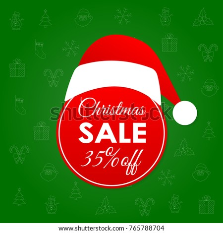 christmas sale and discount