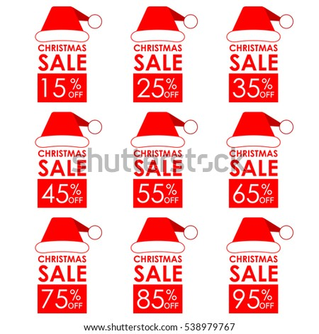 christmas sale banner and