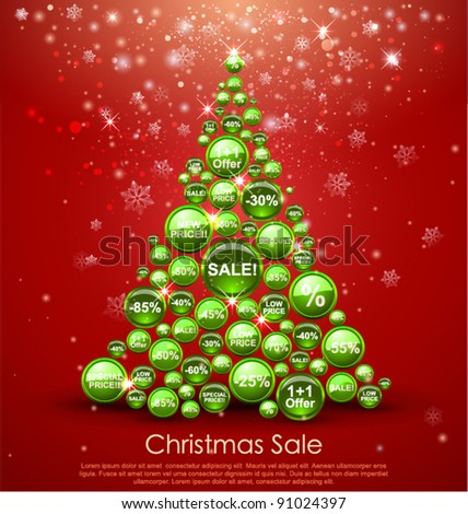 Christmas Sale Tree.