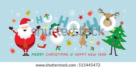 christmas  santa claus laugh ho