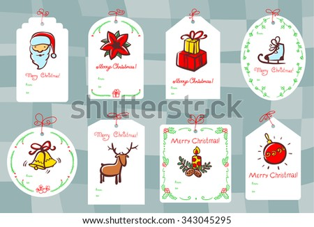Christmas gift tags for sale