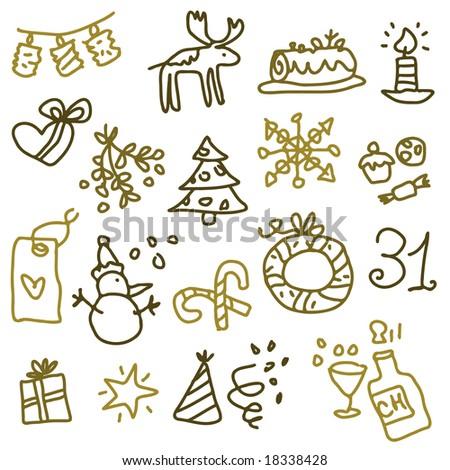 christmas sketches 2