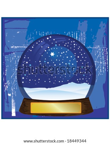 Electric Snow Globe http://www.shutterstock.com/pic-18449344/stock-vector-christmas-snow-globe-electric.html