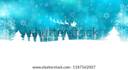 stock-vector-christmas-snow-winter-background