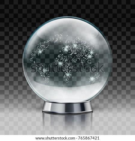 christmas snow world globe