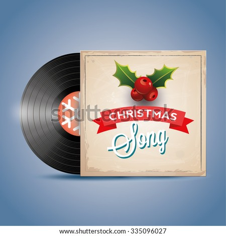christmas song vinyl record