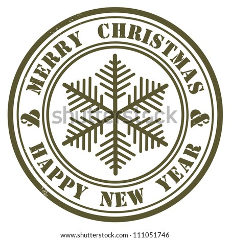 christmas stamp