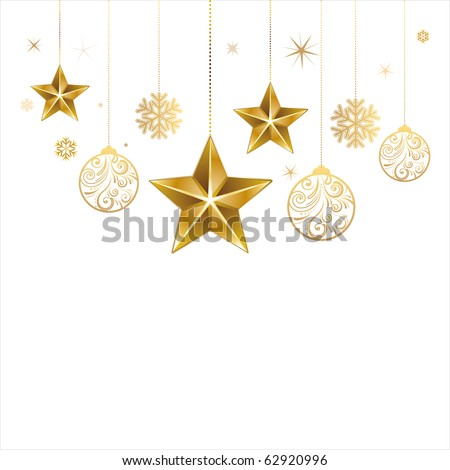 christmas star and decoration
