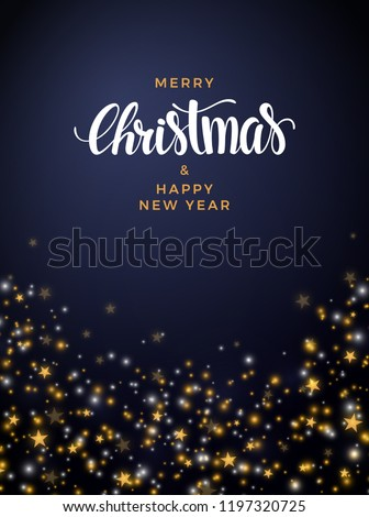 stock-vector-christmas-star-background-with-pearls-and-lights
