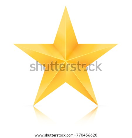 christmas star  gold star
