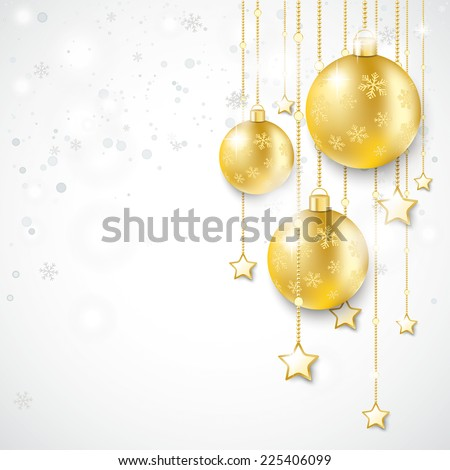 christmas star with snowflakes