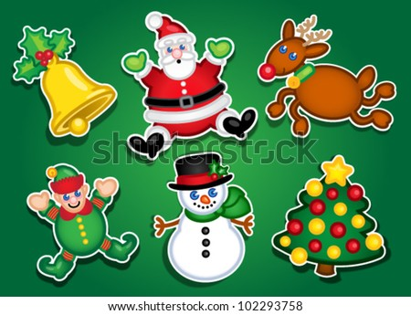 Christmas Stickers / Labels