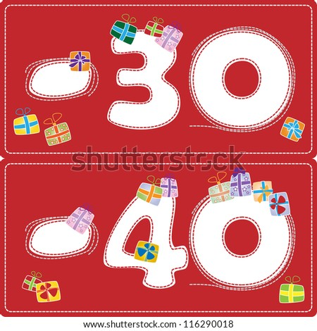 christmas tags with discounts