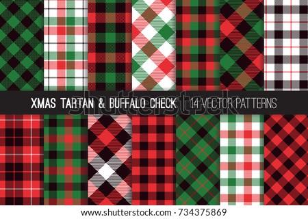 christmas tartan and buffalo