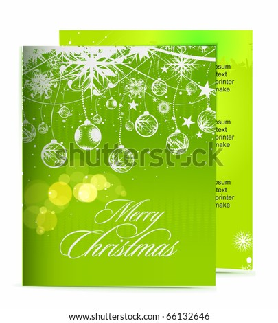 Christmas template designs of menu with best used of your flyer project.