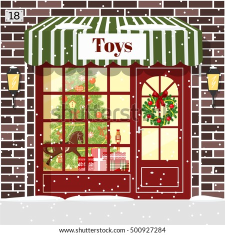 christmas toy shop toy store...