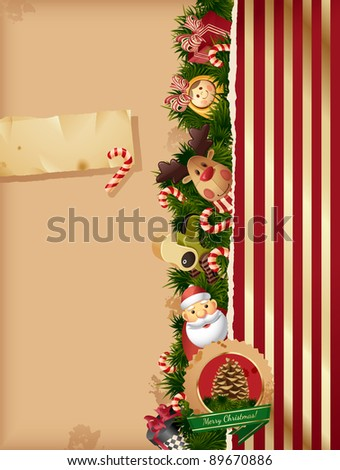 christmas   toys background and