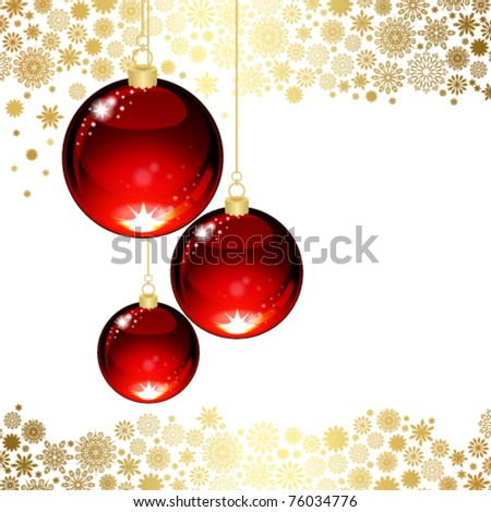 Christmas transparent ball #76034776