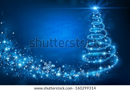 Stock Photo Christmas Tree