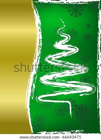 Christmas Tree Background.Holiday image