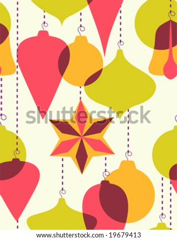 Christmas Tree Decorations on Christmas Tree Decoration Stock Vector 19679413   Shutterstock